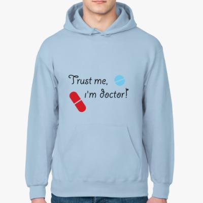 Толстовка худи Trust me, i`m doctor