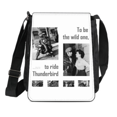 Сумка-планшет 'The wild one'