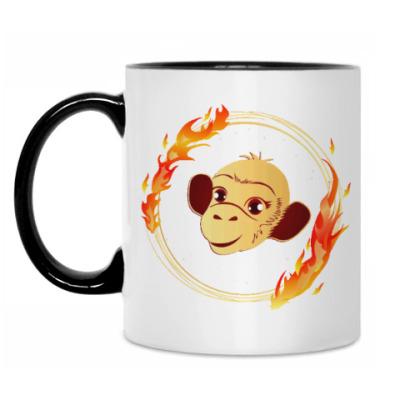 Кружка Огненная обезьяна