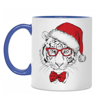 Кружка Тигр Санта