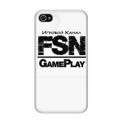 Чехол для iPhone 4/4s GamePlayFSN
