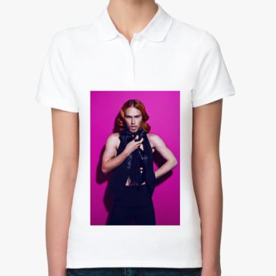 Женская рубашка поло Из серии 'GlamRock'.