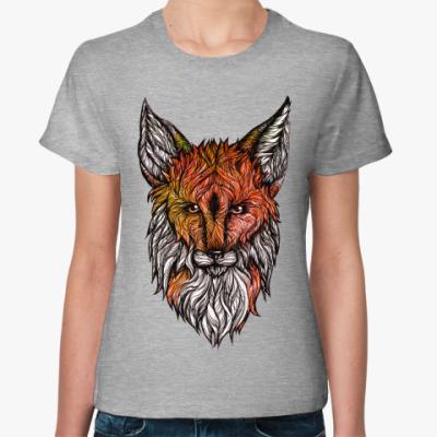 Женская футболка Лесной Лис