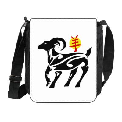 Сумка на плечо (мини-планшет) Год козы (овцы) 2015