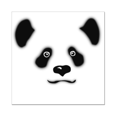 Наклейка (стикер) Панда