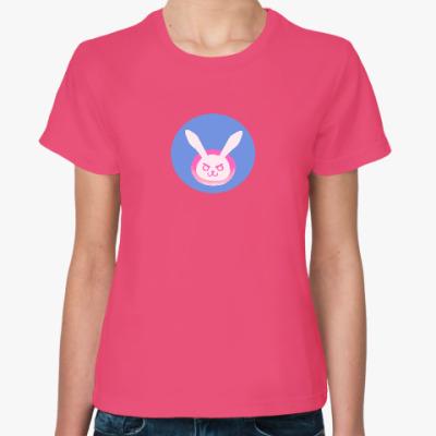 Женская футболка 'Я играю ради победы!'