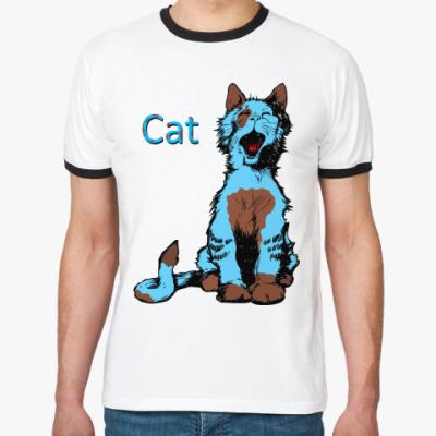 Футболка Ringer-T Cat