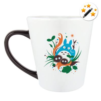 Кружка-хамелеон Веселый Тоторо