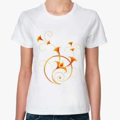 Классическая футболка   'Виньетки'
