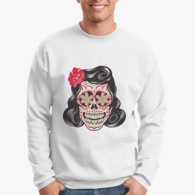Свитшот Skull Girl
