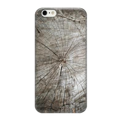 Чехол для iPhone 6/6s Фактура дерева