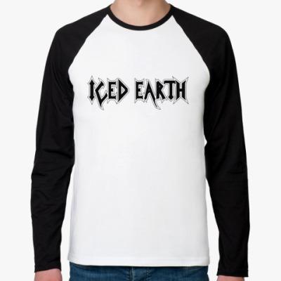 Футболка реглан с длинным рукавом Iced earth