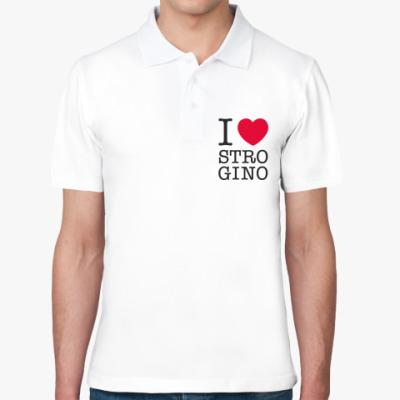 Рубашка поло I ♥ Strogino