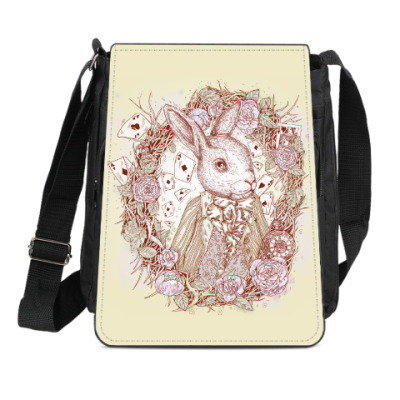 Сумка-планшет Белый Кролик