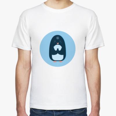 Футболка Animal Zen: P is for Penguin