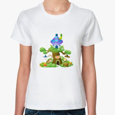 Классическая футболка Сказочный дом
