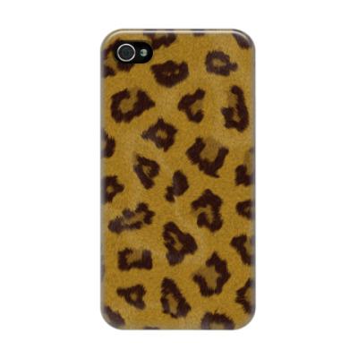 Чехол для iPhone 4/4s Шкура