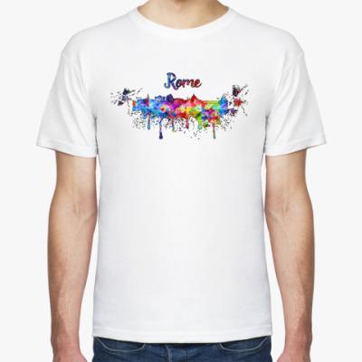 Футболка Rome Little Italy Rainbow print