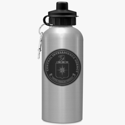 Спортивная бутылка/фляжка ЦРУ