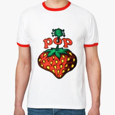 Футболка Ringer-T  'POP'