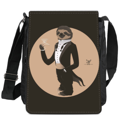Animal Fashion: S is for Sloth in Smoking
