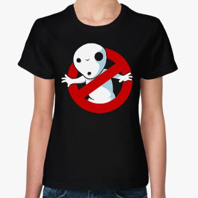 Женская футболка Привидение