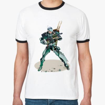 Футболка Ringer-T Billiard Space Ranger