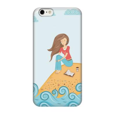 Чехол для iPhone 6/6s Девушка и море