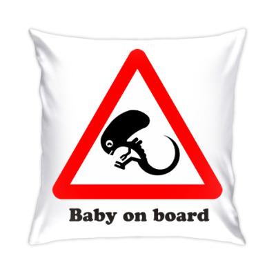 Подушка Ребенок на борту
