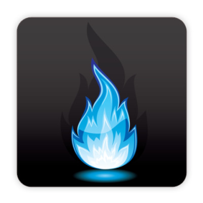 Костер (подставка под кружку) Огонь