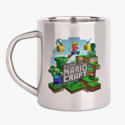 Кружка металлическая Super Mario Craft