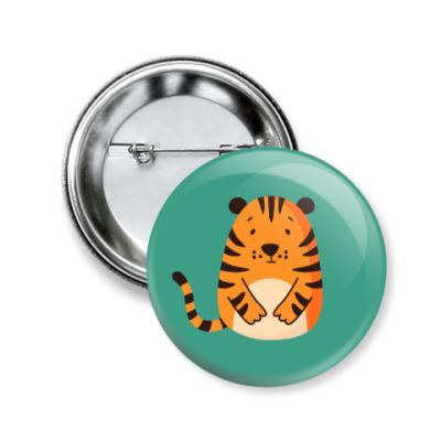 Значок 50мм Tiger