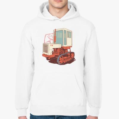 Толстовка худи Трактор Т70