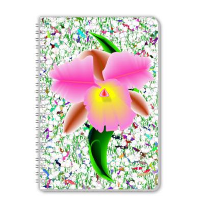 Тетрадь Орхидея