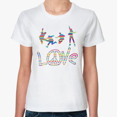 Классическая футболка Beatles Love