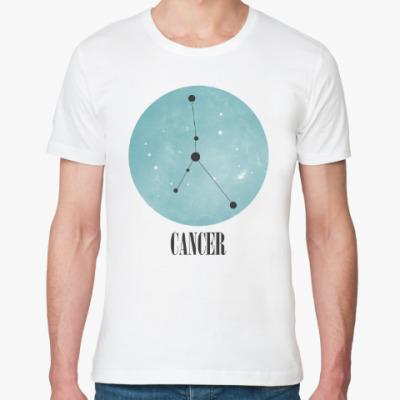 Футболка из органик-хлопка Знак зодиака Рак