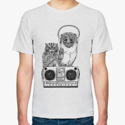 Футболка Совы. Совушки. Owl. Owls.