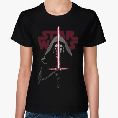Женская футболка Кайло Рен star wars