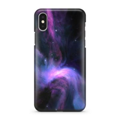 Чехол для iPhone X Космос