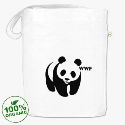 Сумка WWF. Панда с лого