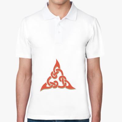 Рубашка поло Кельтский узор