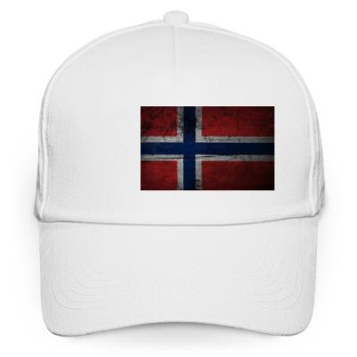 Кепка бейсболка 'Норвежский флаг'