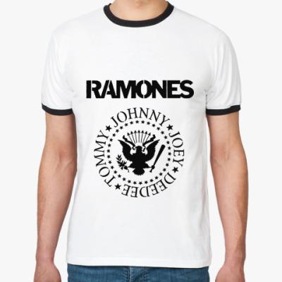 Футболка Ringer-T Ramones