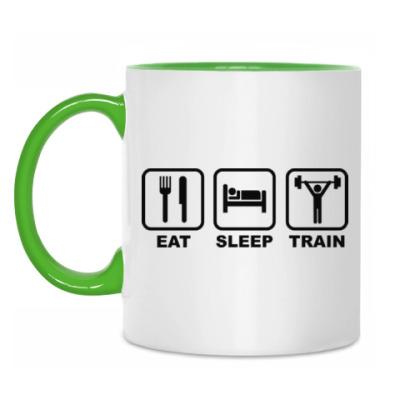 Кружка Eat Sleep Train