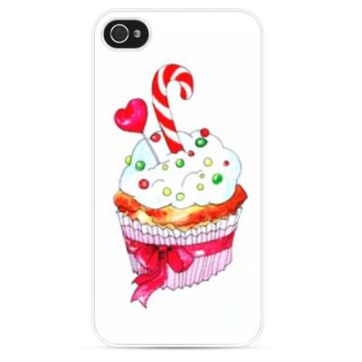 Чехол для iPhone любимый капкейк