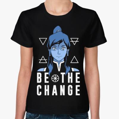 Женская футболка Аватар (Легенда о Корре)