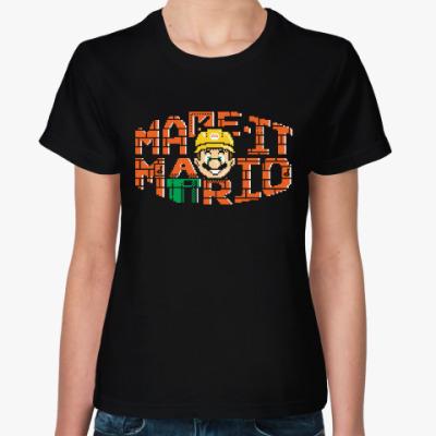 Женская футболка Марио