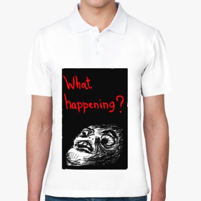 Рубашка поло What happening?