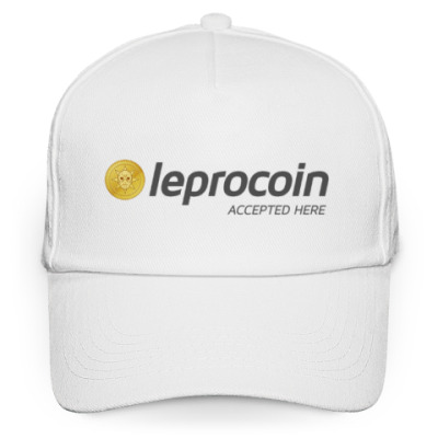 Кепка бейсболка Leprocoin