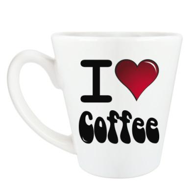 Чашка Латте Я люблю кофе